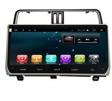 10,1 «Quad core 1024*600 HD экран Android 6,0 Автомобильный gps радионавигационное для Toyota Prado 2018 с 4 г/Wi-Fi, DVR БД 1080 P