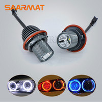 2Pcs 20W 2 10W LED Angel Eyes Marker Ring Light Bulb Canbus W CREE Chips For