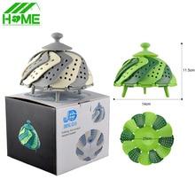 Silikon Folding Dampfer Schale Körbe Mikrowelle Lebensmittel Obst Gemüse Fisch Korb Dampfer Küche Kochen Zubehör Werkzeuge