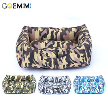 New Arrival Dog Camouflage Bed Comfortable Warm House High Quality dog beds for large dogs Cat Pet Products