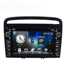 Discount New 7 inch Car DVD GPS Player with iPod Bluetooth Radio Canbus for Peugeot 408 2013 free 8G map