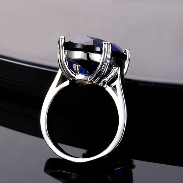 13x18MM Natural Gemstone Siver 925 Ring For Women 4