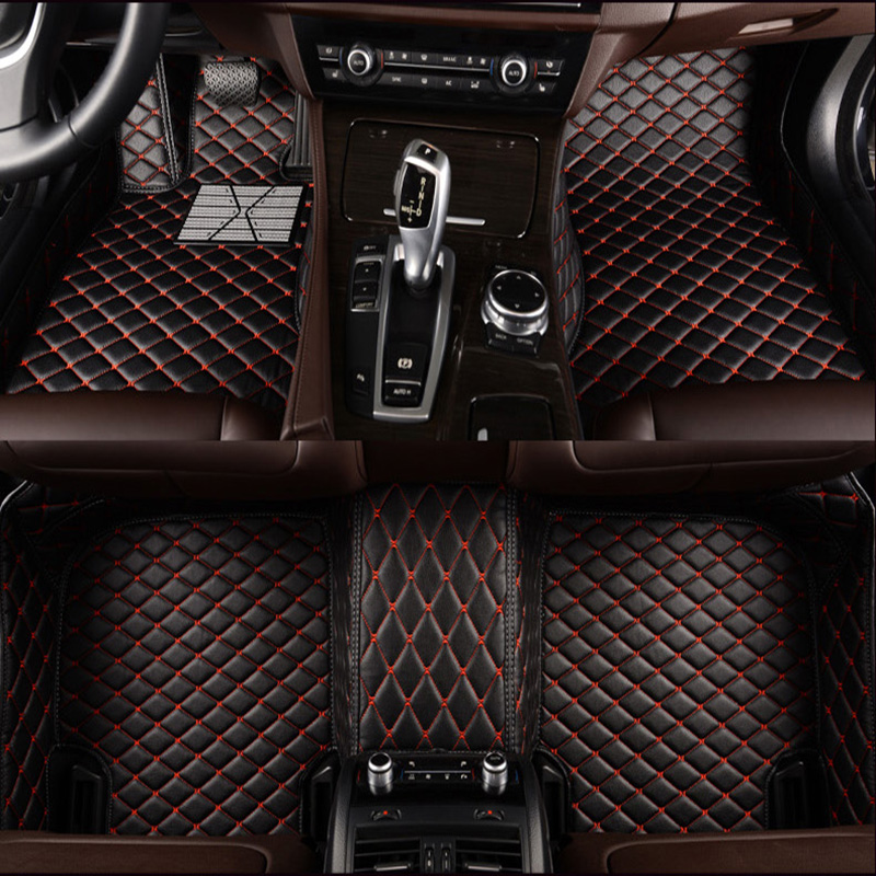 Custom car floor mats For Toyota all model Corolla camry alphard prado rav4 sequoia corolla 4Runner Hilux prado prius YARiS etc in Floor Mats from Automobiles Motorcycles