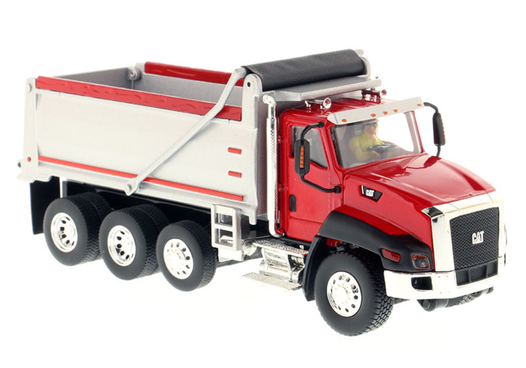 DM 1:50 Cat Cat CT660 Dump truck truck model Alloy Collection Model