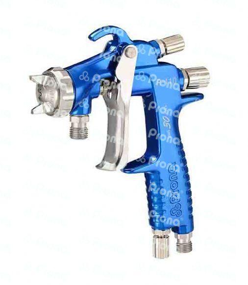 Prona r-110-p pressure feed type manual spray gun, r110-p painting gun, 0.8 1.0 1.3 1.5mm nozzle size