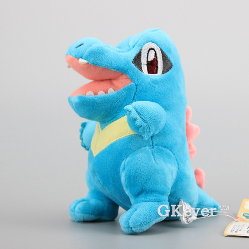 New Arrival Totodile Plush Toy Soft Stuffed Dolls 16 cm Toys for Children