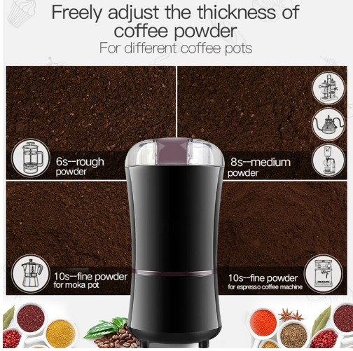 400W Electric Coffee Grinder Mini Kitchen Salt Pepper Grinder Powerful Spice Nuts Seeds Coffee Bean Grind Machine400W Electric Coffee Grinder Mini Kitchen Salt Pepper Grinder Powerful Spice Nuts Seeds Coffee Bean Grind Machine