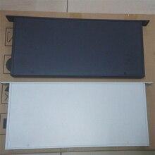 1U алюминиевая передняя панель усилителя шасси оболочка DIY шасси Железный алюминиевый процесс ЦАП шасси