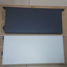 Panel frontal de aluminio de 1U, amplificador, carcasa del chasis, chasis DIY, proceso de aluminio de hierro, chasis DAC