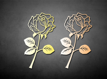 Free shipping Classical chinese style rose bookmark metal stainless steel day gift befriend book mark stainless steel bookmark