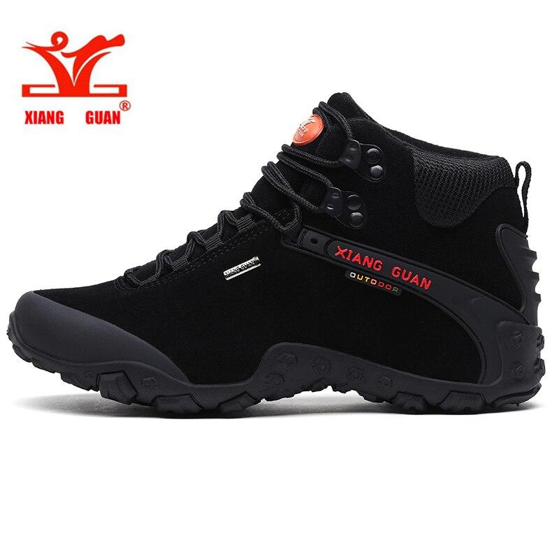 2017 XIANG GUAN Outdoor Shoes High Quality Anti Fur Man Martin font b Hiking b font