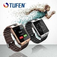 2017 Caliente Reloj Inteligente DZ09 Reloj SIM/TF para Iphone Android cámara Bluetooth Reloj Smartwatch Teléfono PK GV18 GT08 GV09 M26 U8