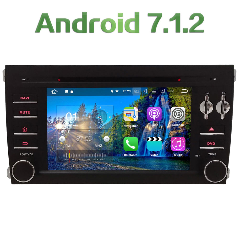 Android 7 1 2 2GB RAM 4G 7 Quad Core WIFI DAB SWC Car DVD Player
