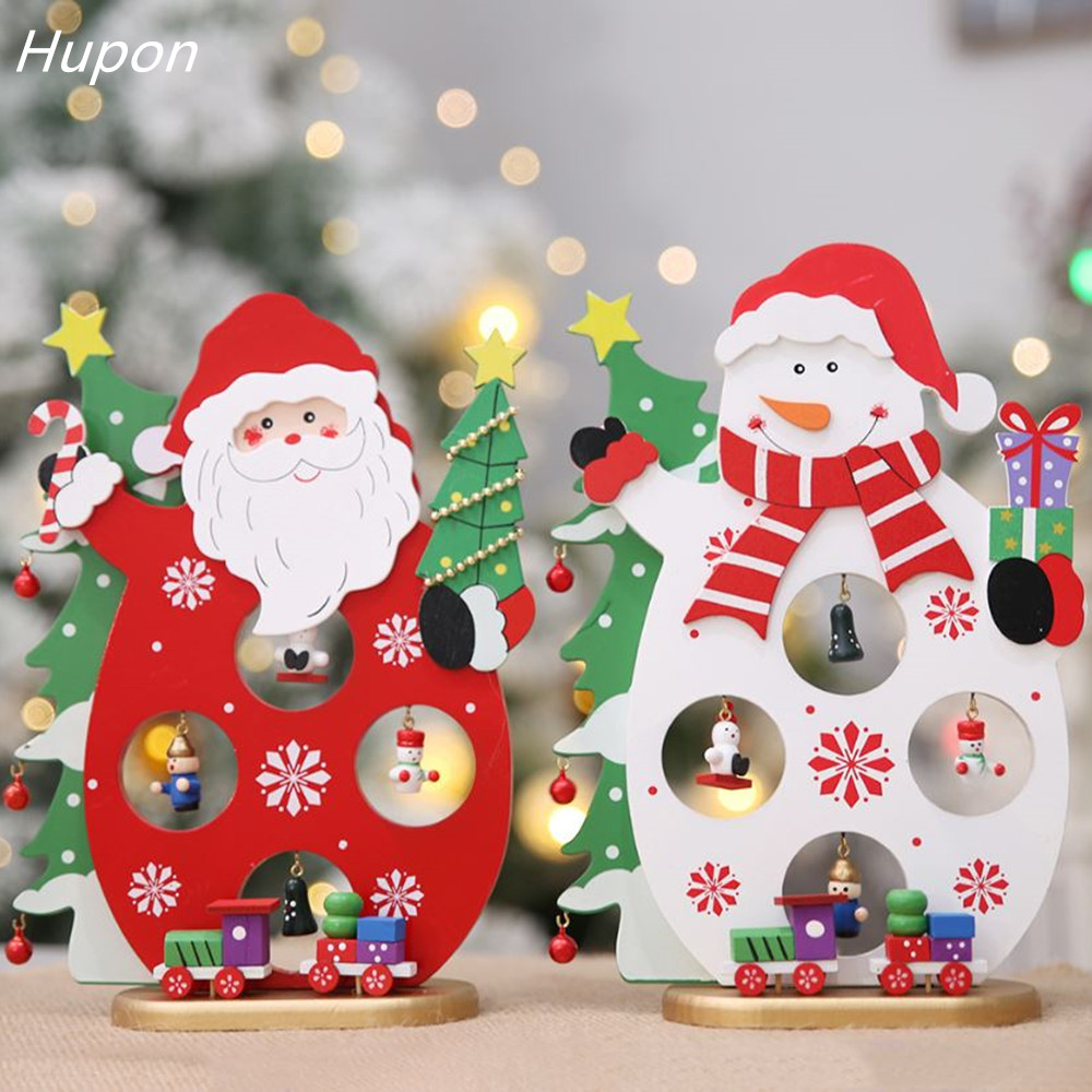 Christmas Decoration Stores: New Hanging Wooden Decorations Christmas Tree Ornament For