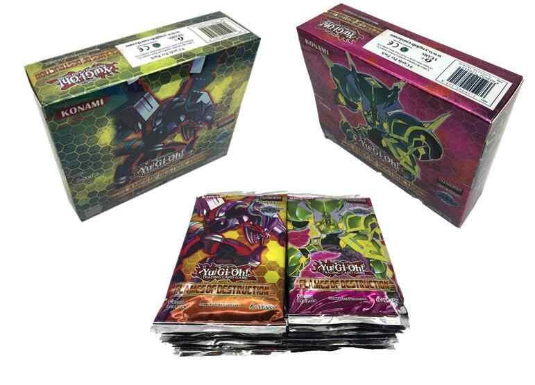 Горячая Распродажа 45/90 шт. игры YGO YuGiOh игральные карты мультфильм карты Yugioh игровая карта Япония мальчик девочки Yu-Gi-Oh карты Коллекция игрушки подарок