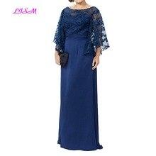 Мать невесты платья размера плюс вечерние платья Новое поступление кружевное длинное в пол платье для матери