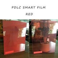 אדום PDLC חכם להחלפה גודל מדגם סרט 210 מ