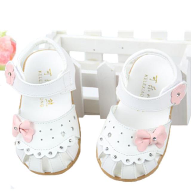 Bebê meninas sandálias de couro genuíno, Sapatos de bebê para meninas, Bebê criança sapatos de couro criança arco princesa sandálias
