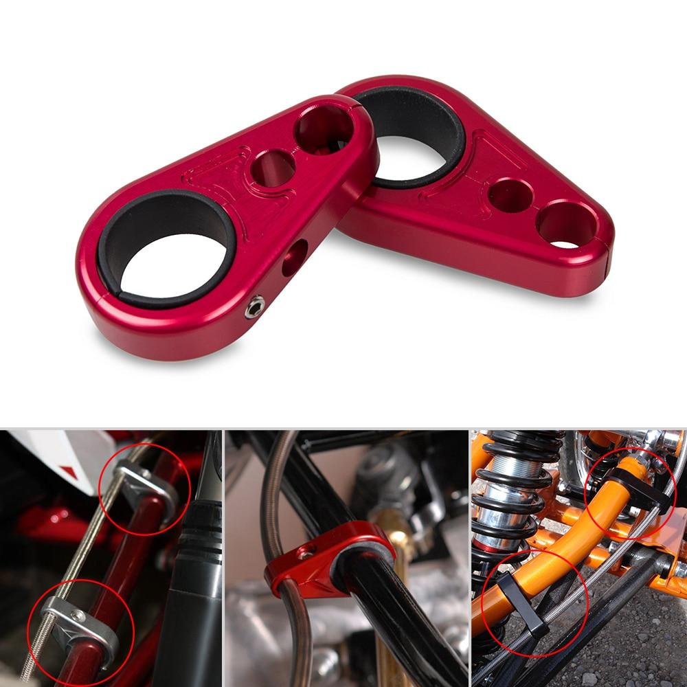 CNC Linha de Grampos Para Honda FourTrax ATV UM-Braço Do Freio ATC125 200 250 350 TRX125 TRX200 TEX350 TRX400 TRX450 Foreman 350 450 500