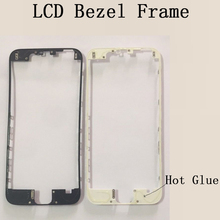 High Quality Lcd Touch Screen Bezel Frame For iPhone 6 6s Plus Front Bezel Bracket LCD frame for asus transformer book t100 t100ca t100t t100ta frame bezel original 10 tablet only frame bezel or touch screen with frame