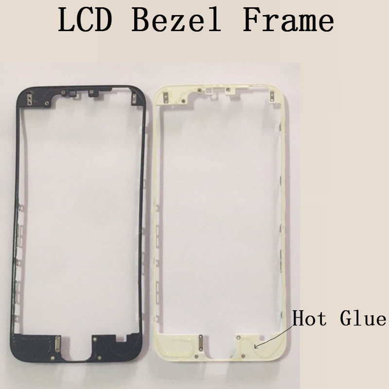 High Quality Lcd Touch Screen Bezel Frame For iPhone 6 6s Plus Front Bezel Bracket LCD frame image