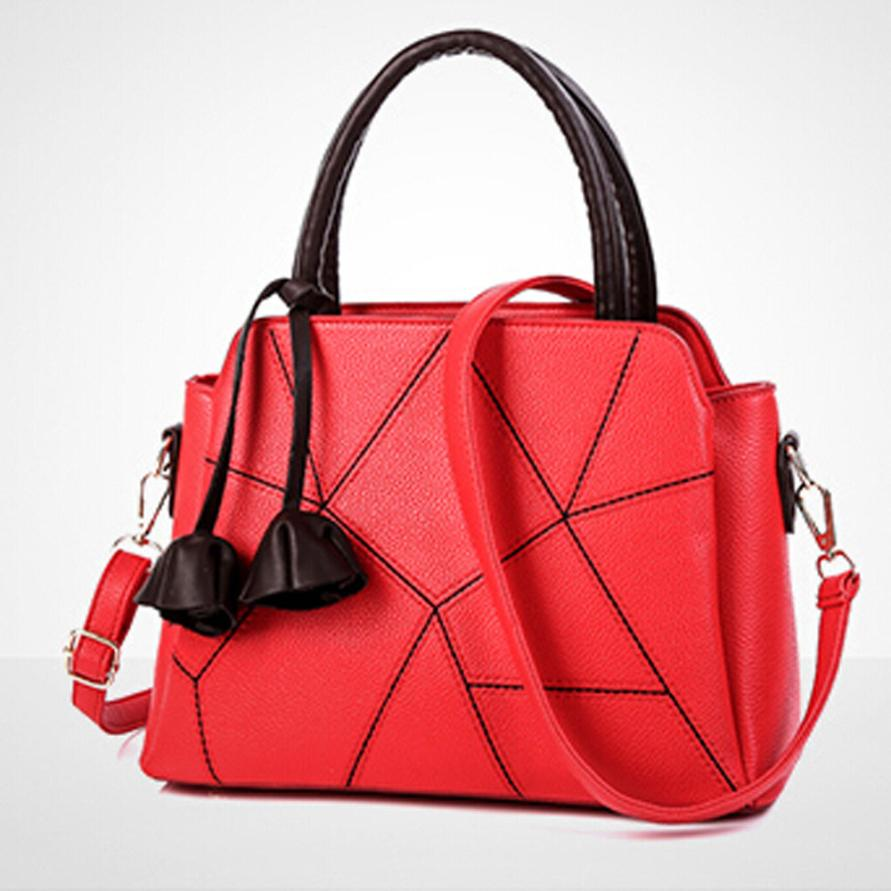 Новейшие модные женские Искусственная кожа Сумка через плечо сумка женская сплошной цвет молнии сумки мешок отдыха # F