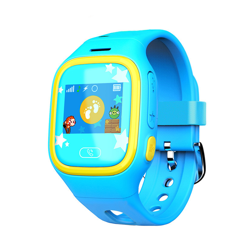 Kids Watch Phone Support GPS Locator SOS Call Real Time Tracking Smart Watch for Children Anti-lost Outdoor Wristwatch Free App lestopon smart watch kids baby watch monitor smartwatch gps wifi sos locator trackey anti lost safe support sim card for phone