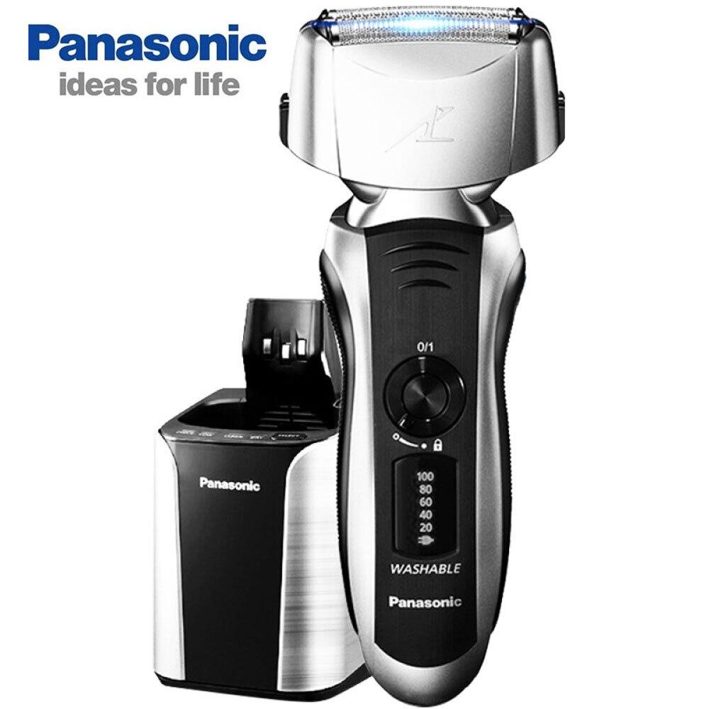 Panasonic ES-LT72 rasoio Elettrico Ricaricabile ad alta velocità Sospensione Magnetica Azionamento Del Motore 13,000 rpm con Pulitore Automatico