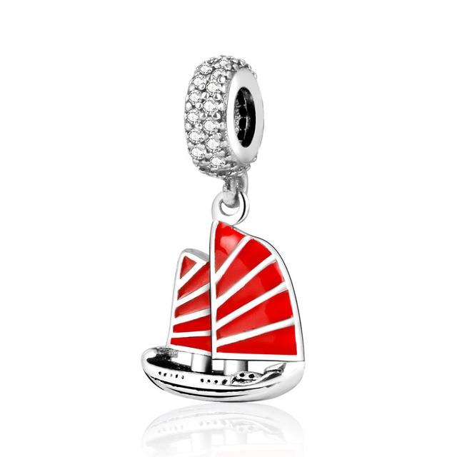 ciondolo pandora barca a vela