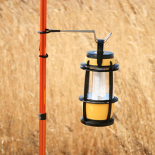 New Style 1PC Multifunction Lantern Light Lamp Hanger Tent Pole Post Hook for Outdoor Camping