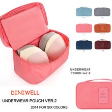 Women Girl lingerie bag Travel Cosmetic Makeup Bag Toiletry Wash Storage Case Underwear Bra Bags