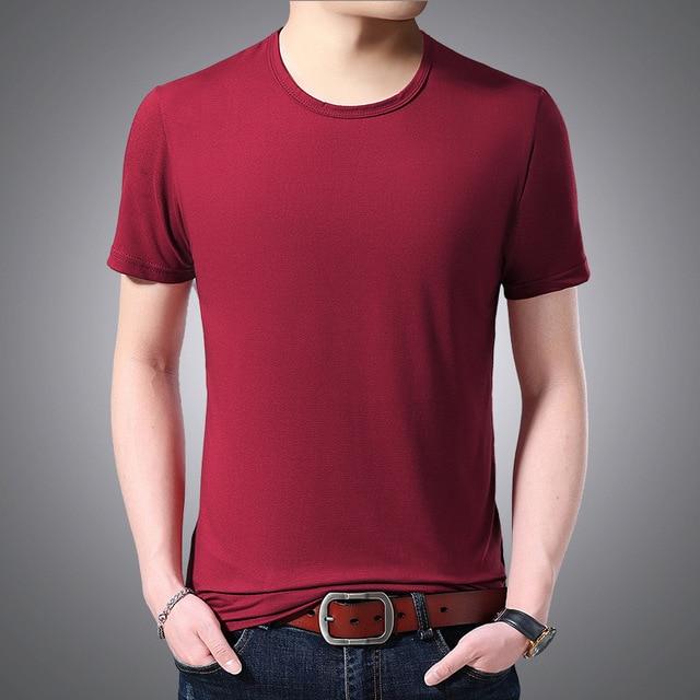 V Neck Short Sleeved T-shirt 6