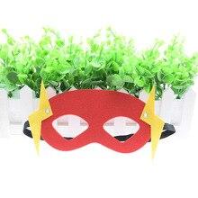купить The Flash Superhero mask Cosplay Batman Wonder Woman Thor IronMan Princess Halloween Christmas kids adult Party Costumes Masks дешево