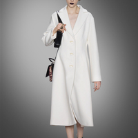 Button Pockets Slim New Arrival Direct Selling Coats Winter Coat European And American Fashion Wool Coat Long Jacket Dress