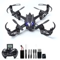 2MP HD Camera RC Drone Live Video RC Quadcopter 6-Axis Gyro Remote Control Quadcopter Includes SD Card & Card Reader