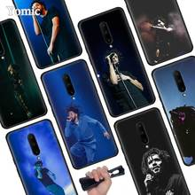 Rapper J Cole Black Soft Case for Oneplus 7 Pro 7 6T 6 Silicone TPU Phone Cases Cover Coque Shell