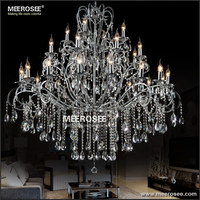 Hot Selling Crystal Chandeliers Chrome Color Free Shipping MD051 L16 8 4