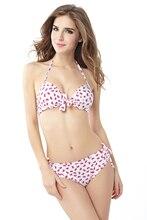 Bowknot Pattern Bikini Fashion