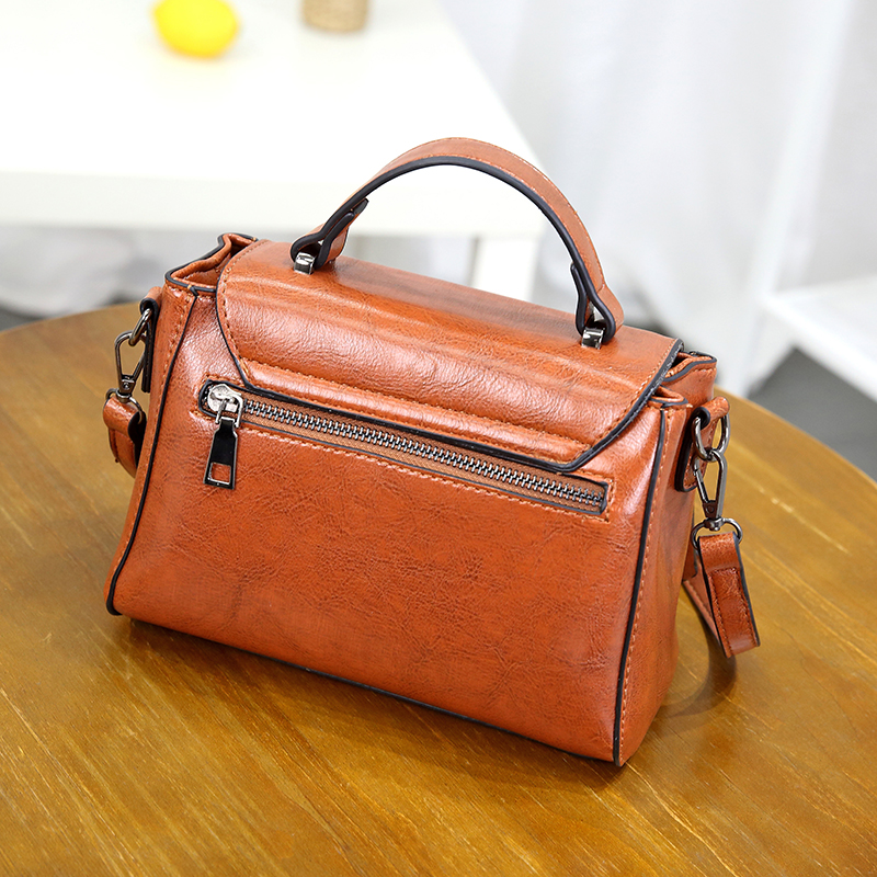 HUANILAI Women 39 s Bag Luxury Leather Handbag Sewing Thread Bags Girl Shoulder Bags High Quality NILAI001 in Shoulder Bags from Luggage amp Bags