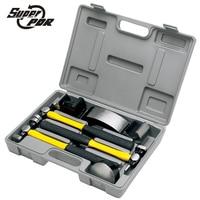 Super PDR tools 7 pieces auto body fender repair kit car body repair tool kit sheet metal set