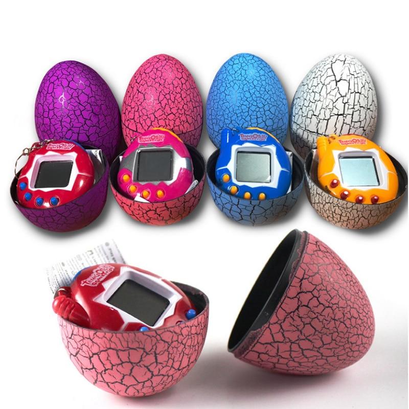Multi-colors Dinosaur Egg Virtual Cyber Digital Pet Game Toy Tamagotchi Digital Electronic E-Pet Christmas Gift