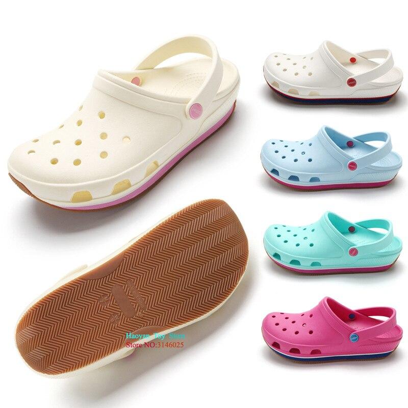 2018 Classic Style Girls Sandals Cartoon Women Beach Slippers Girls Shoes Sandal Slipper Parent Kids Summer