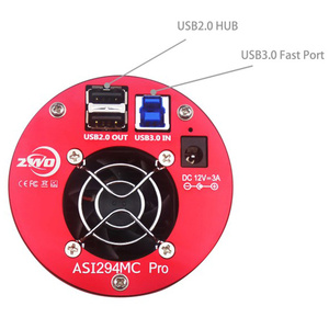 Image 2 - ZWO ASI294MC Pro, tampon DDR refroidi Camera 256MB, en couleur