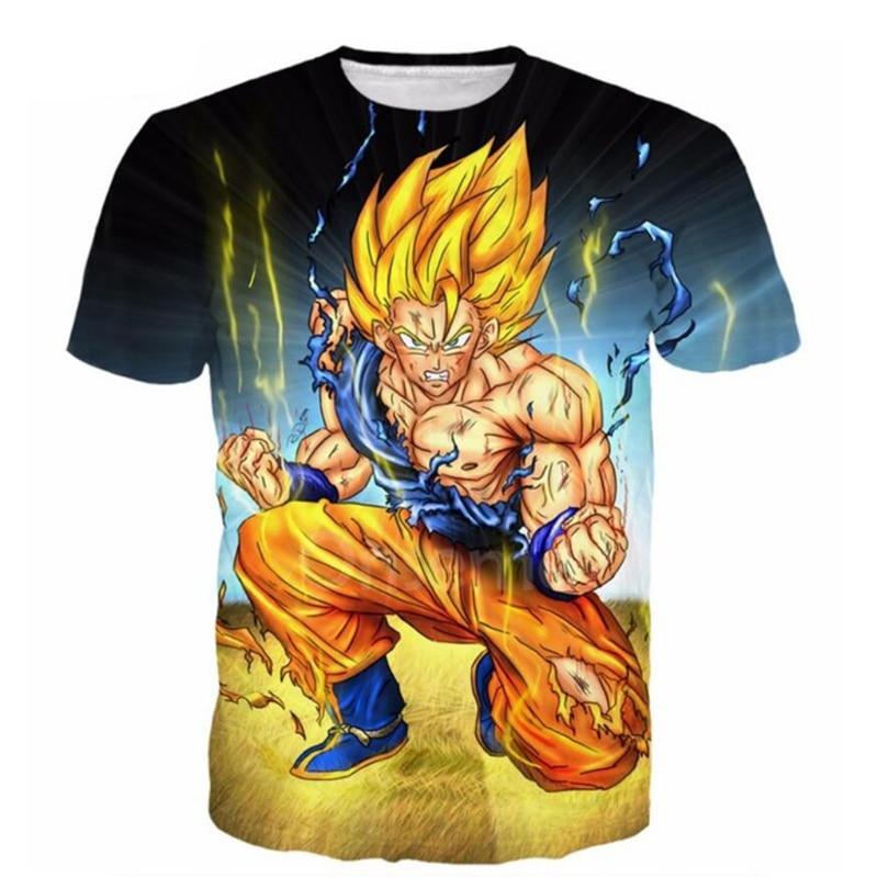 Këmishë Ballstar Cosmos Dragon Ball Super Z 3D Printo Goku Super - Veshje për meshkuj - Foto 3
