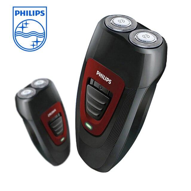PHILIPS Intelligent Professional Electric Razor Electric Shaver Rotary 2 heads Portable Razor PQ182/16 Black for Men