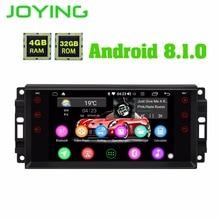 Android 8,1 автомобиль радио стерео плеер 4 Гб + 32 с DSP для Jeep Octa Core 1024*600 сенсорный экран руль управление головное устройство