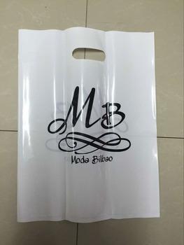 500 sztuk W250 * H350mm(9 8 '* 13 8') promocja nadrukowane logo etui do włosów plastikowe opakowanie na prezenty torby wzory promocja rama do torebki tanie i dobre opinie LOGOMACI Z tworzywa sztucznego Torby na zakupy