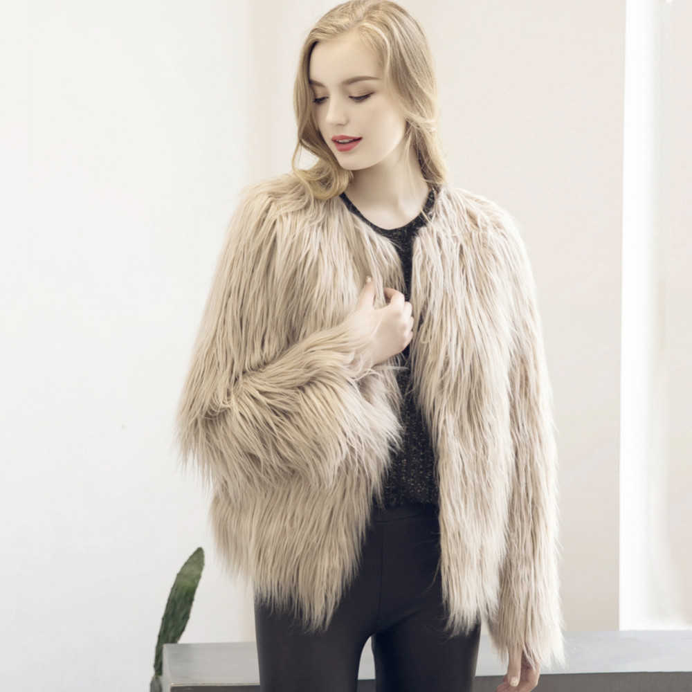 Chic Soft Faux Fur Coat 3