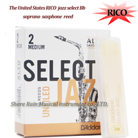 The United States RICO Alto Saxphone ReedSELECT JAZZ Eb Alto Sax Reed Unfiled And Filed