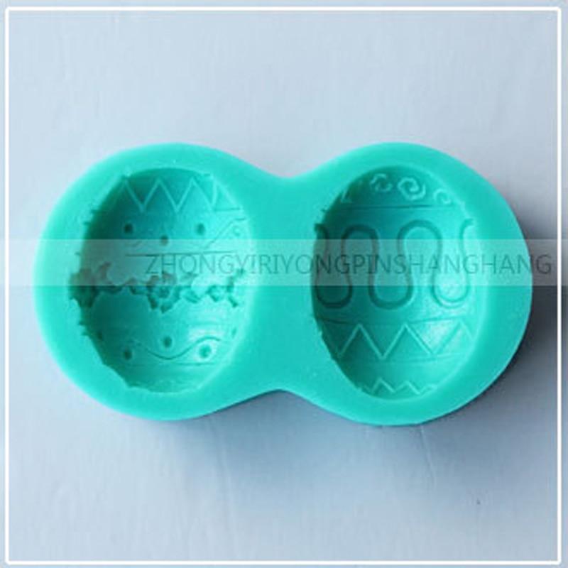 1 stücke Thanksgiving Day Ostern Eier 3D Silikonformen Kuchen Dekor ...